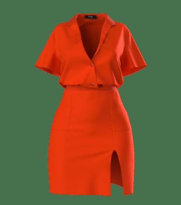 hanifa dress