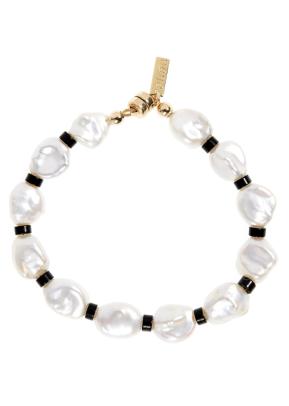 Eliou Dax 2 Bead & Baroque Pearl Bracelet Nordstrom