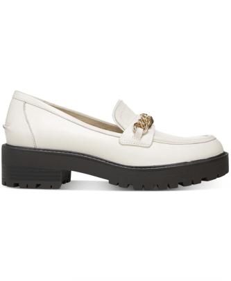 Sam Edelman Women's Taelor Chained Lug-Sole Loafers Macys