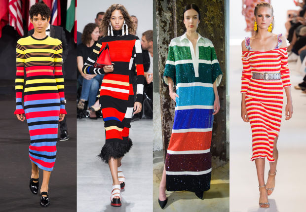 Image result for stripes fashion spring 2017