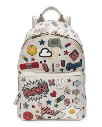 a6963f48ed1b anya-hindmarch-wink-stickers-mini-backpack … Girls Vintage Bow Bag. Really  Cute Backpacks