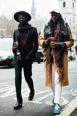 The London Fashion Week Mens Street Style Crowd Achieved