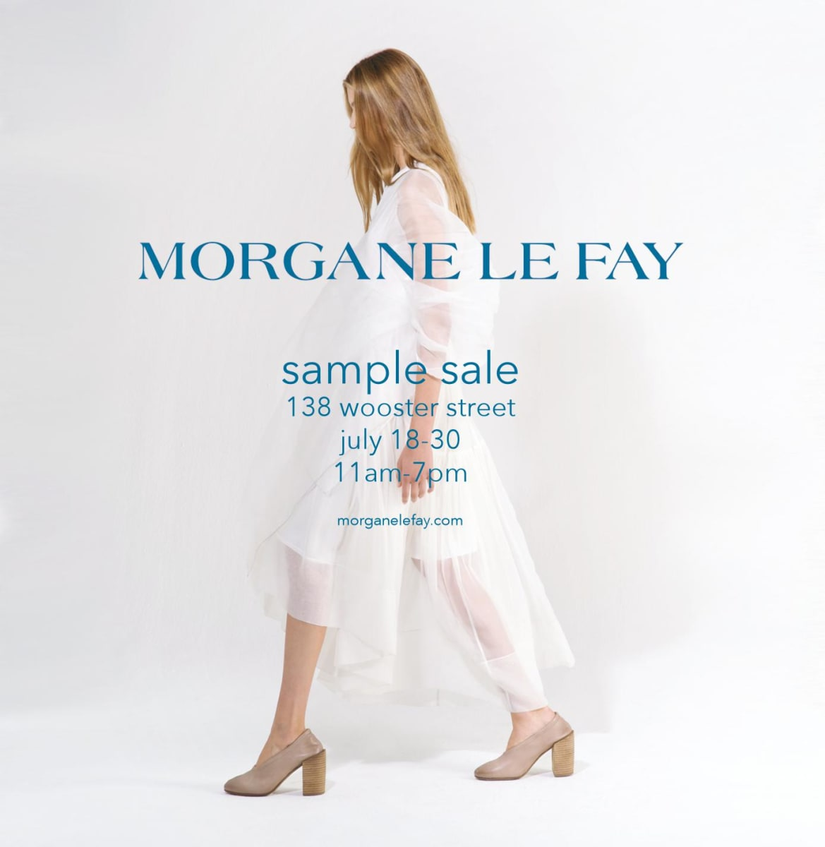 Morgane Le Fay Sample Sale, July 18th - 30th (New York, NY)