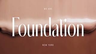 Foundation Is Seeking Fall '19 Digitally-Savvy PR and Social-Media Interns In New York, NY