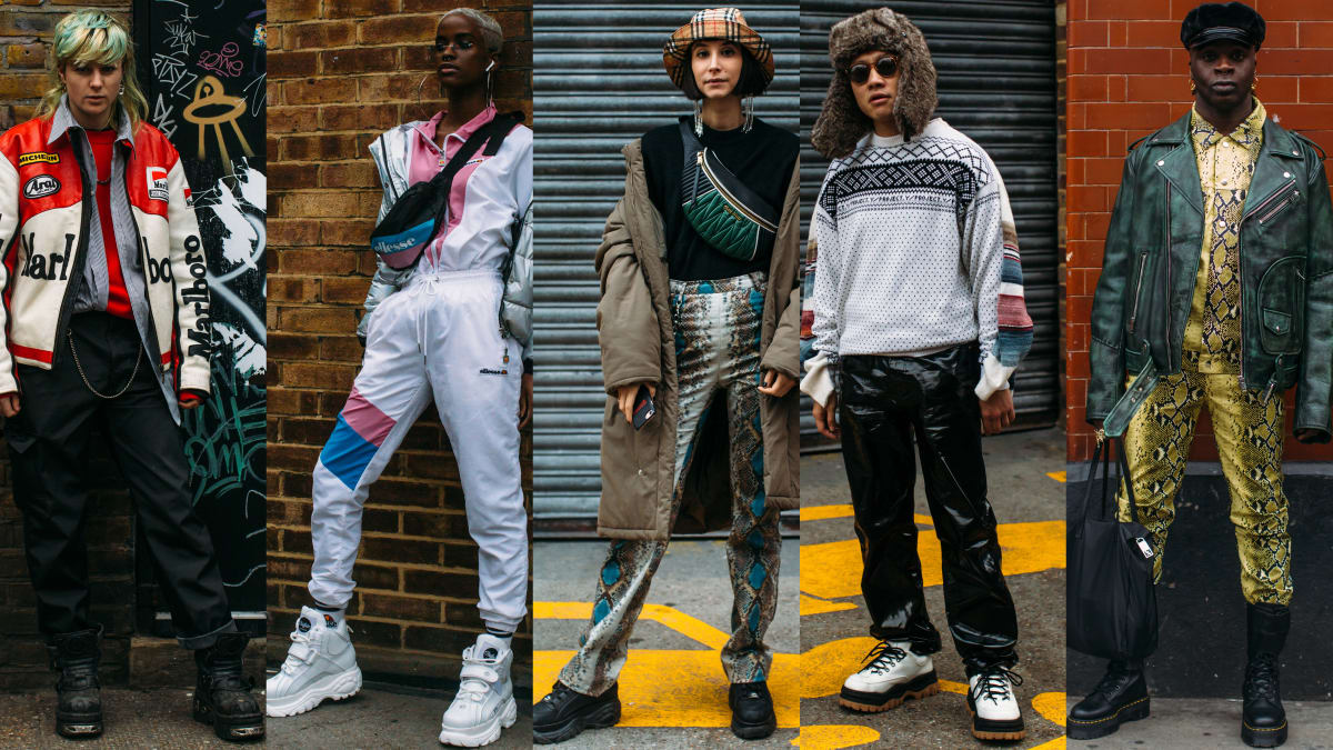 2f5045084de1 ... Street Style Crowd Made Platform Sneakers a Thing at London Fashion  Week Men s Fashionista - 11 00 AM ET January 08