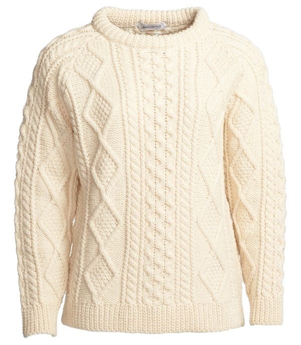 Dhani's Cozy, Authentic Fisherman's Sweater