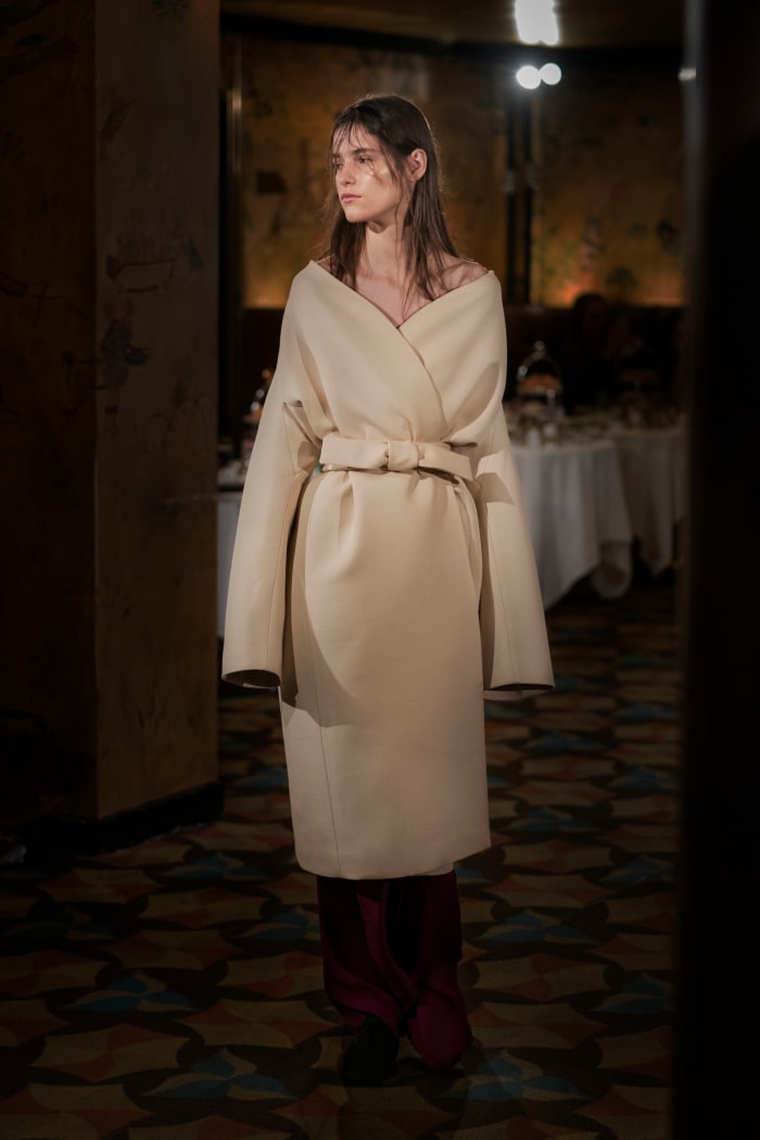 THE ROW trench coat | BIOTOP - ビオトープ