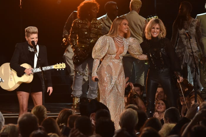 Beyonce Surprised No One by Wearing a Naked Dress to
