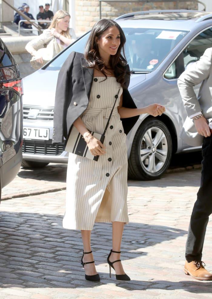 Meghan Markle Wore a Thing: Altuzarra Dress Edition