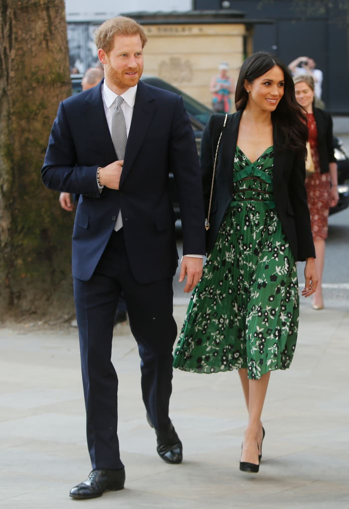Meghan Markle Wore a Thing: Self-Portrait Dress Edition