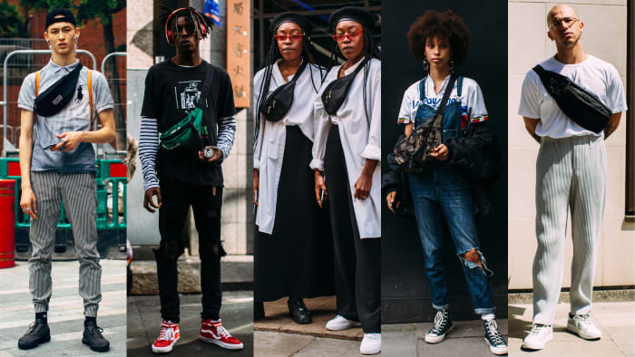Fanny Packs Were a Street Style Favorite at London Fashion ...