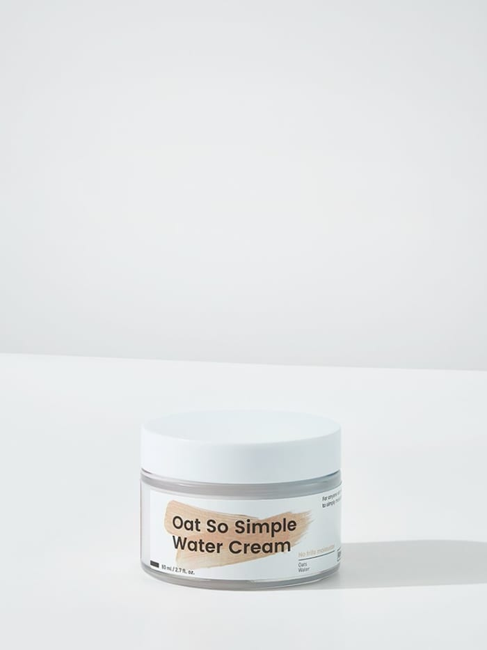 Krave Oat So Simple Water Cream, $ 28, is available here. Photo: Courtesy of Krave
