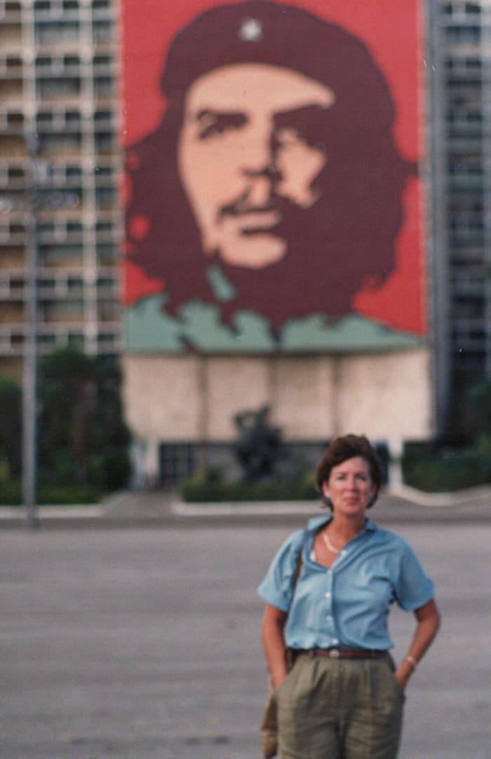 Jonna Mendez in Cuba.