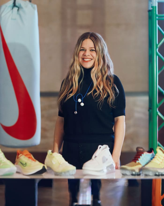 How Georgina James Worked Her Way Up at Nike to Become the Director of Women's Footwear