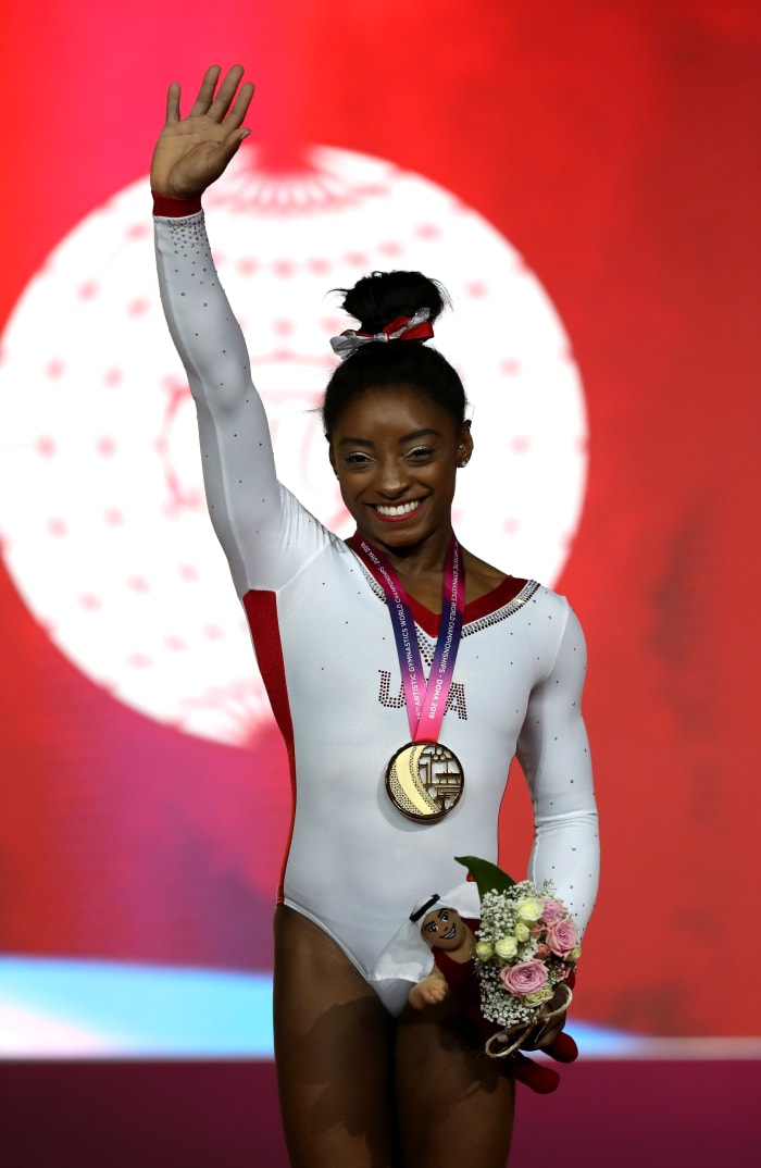 How I Shop: Simone Biles