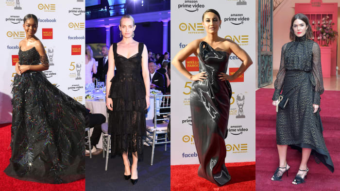 c0ce0982f58e Black Was the Color of Choice Among the Best-Dressed Celebrities This Week