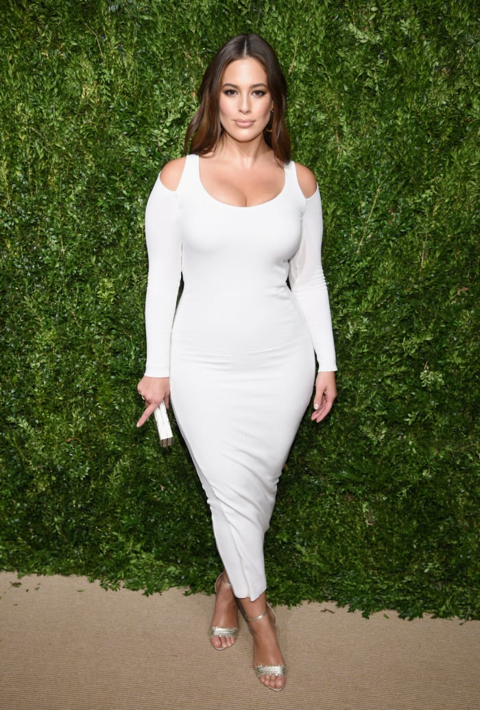 Ashley Graham Victor Glemaud CFDA Vogue Fashion Fund