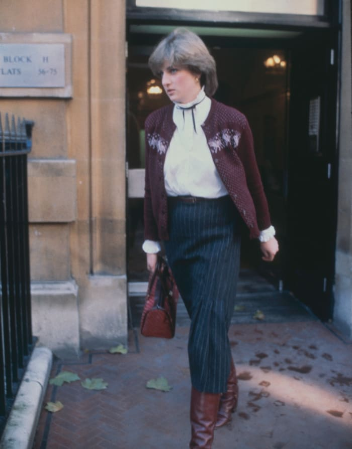A 19-year-old Lady Diana Spencer in November 1980.