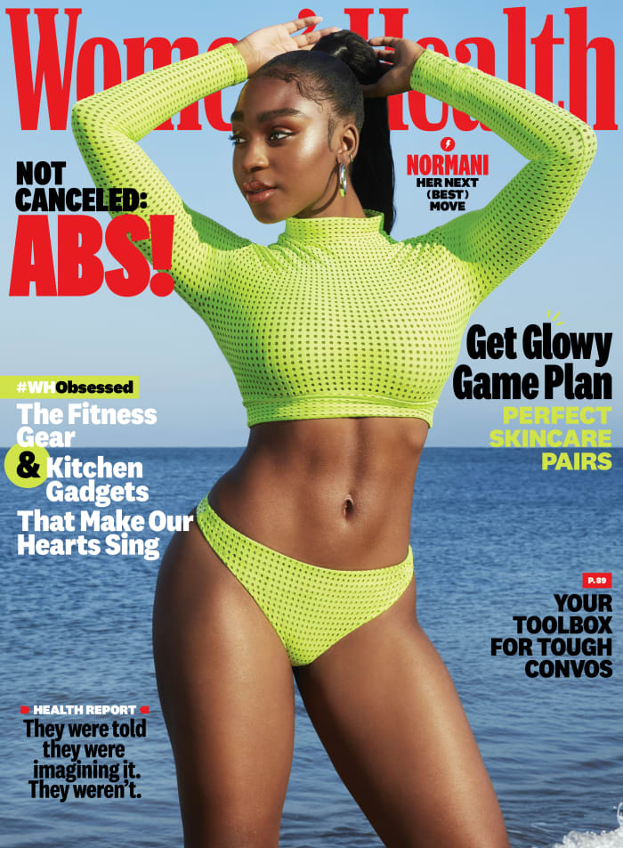 "Normani on the December 2020 cover of ""Women's Health."""
