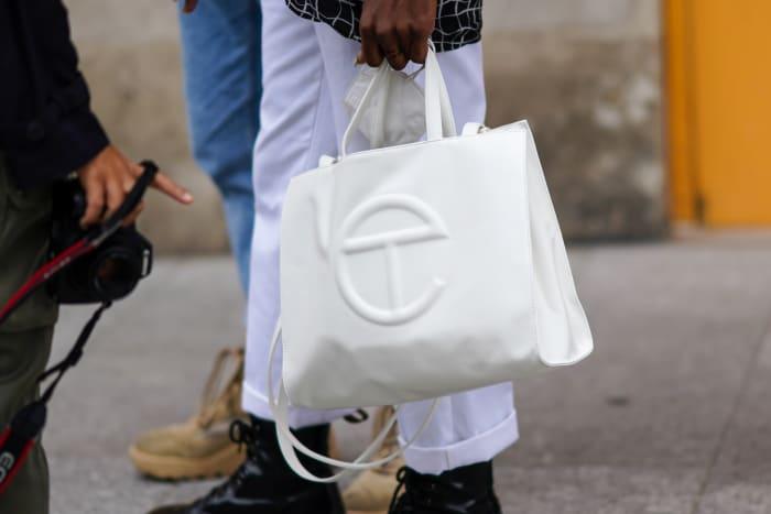 Telfar Bag Paris Fashion Week Edward Berthelot:Getty Images