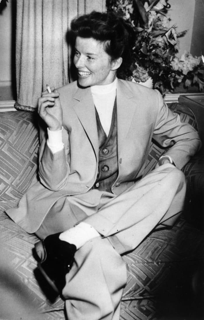 Katharine Hepburn in 1952.
