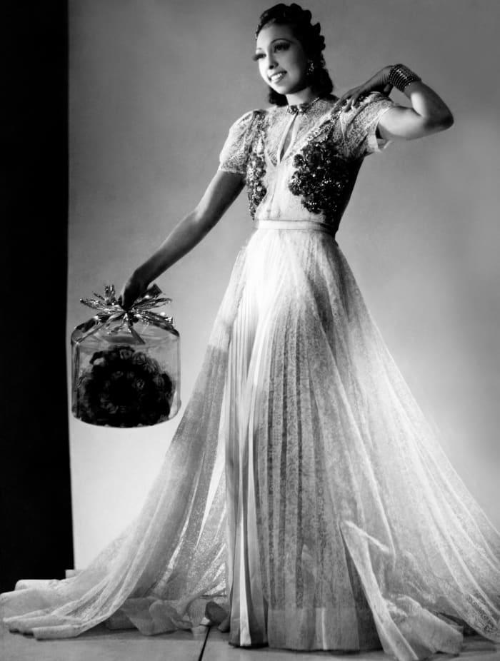 Josephine Baker in an undated photo.