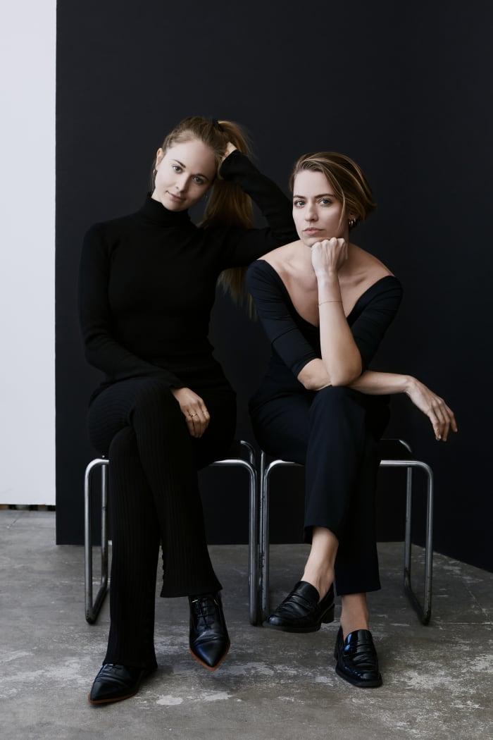 Krissy Jones (left) andChloe Kernaghan
