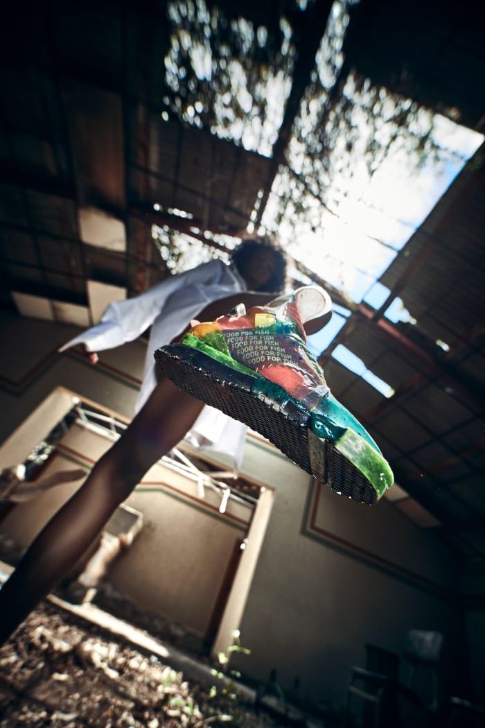felipe fiallo sustainable sneaker designer