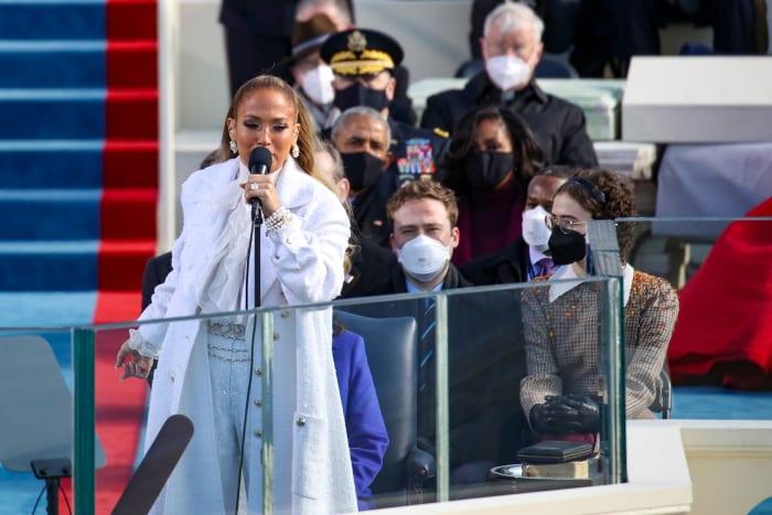 jlo inauguration 1