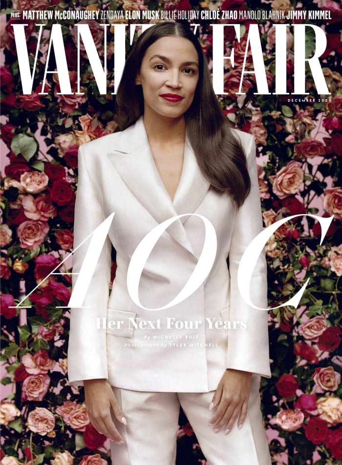 Vanity Fair_December Issue Cover_Credit: Tyler Mitchell