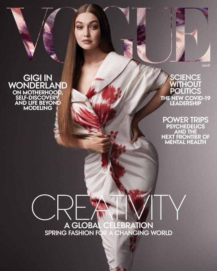 Gigi Hadid VO0321_Cover