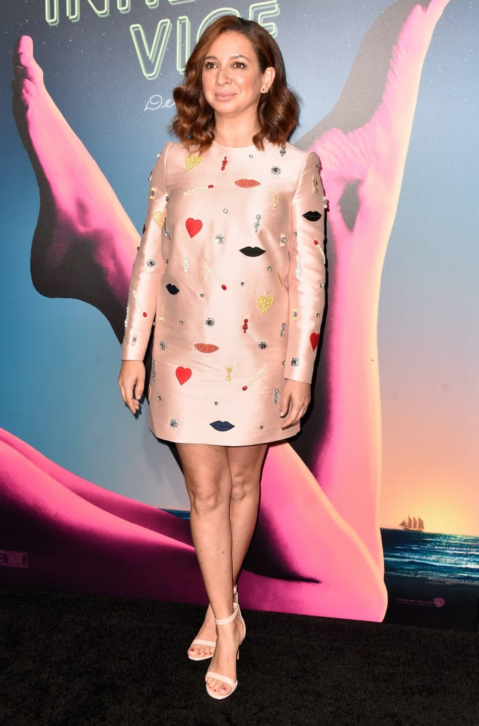 maya-Rudolph-stella-mccartney-inherent-vice-premiere