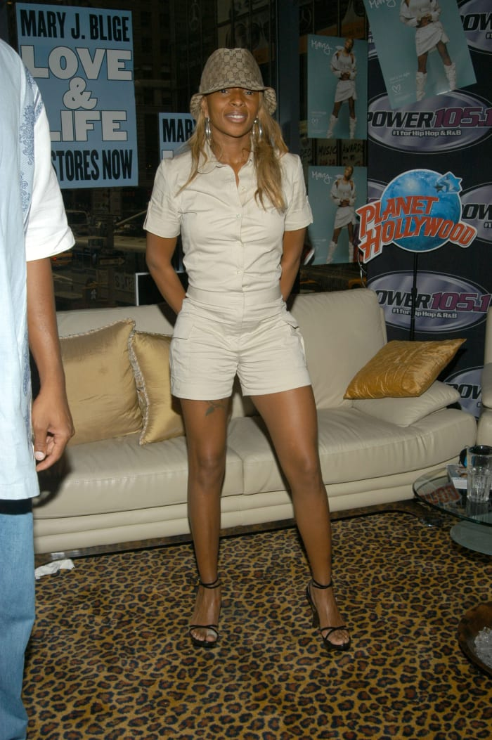 Mary J. Blige in 2003.
