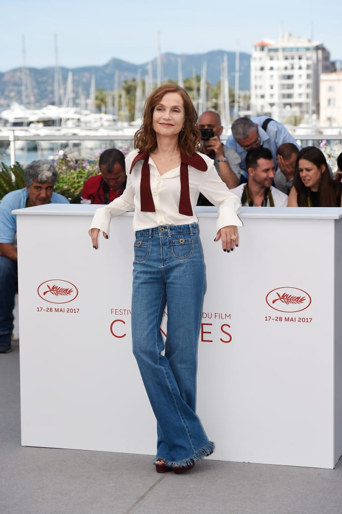 Isabelle Huppert The 70th Annual Cannes Film Festival