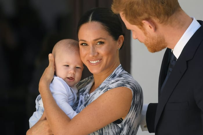Meghan Markle Archie South Africa