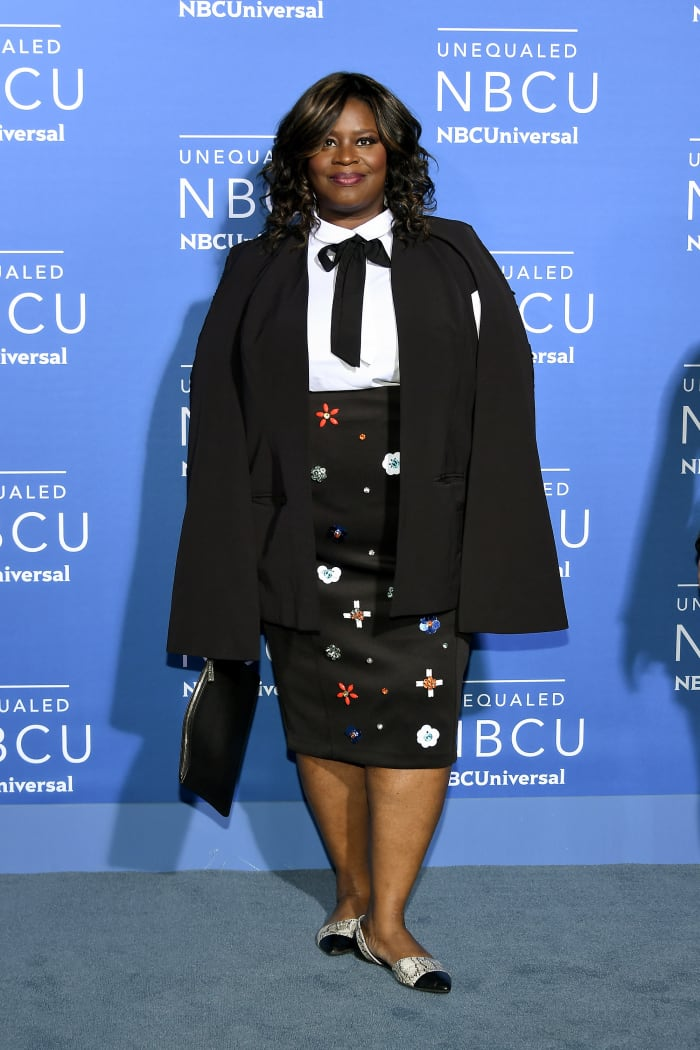Retta at the 2017 NBCUniversal Upfronts in N.Y.