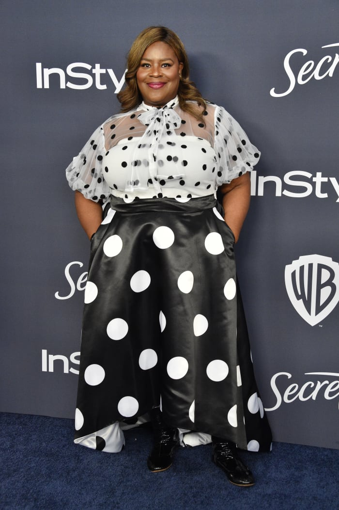 Retta at the 2020'InStyle' and Warner Bros. Golden Globesafter party in L.A.