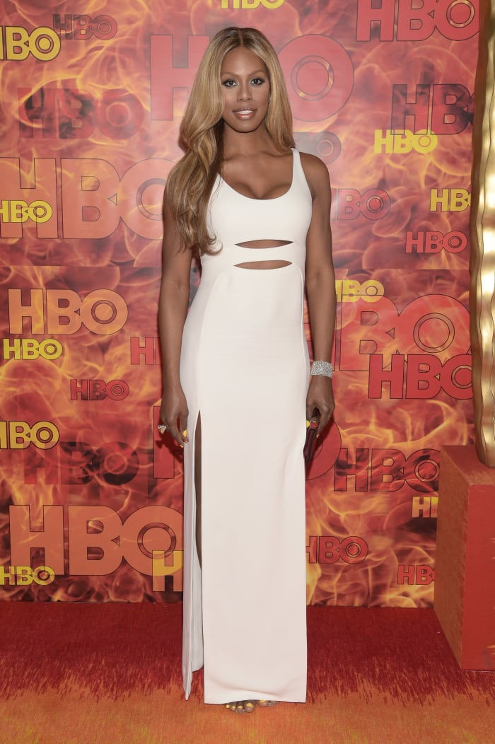 averne Cox attends HBO's Official 2015 Emmy After Party