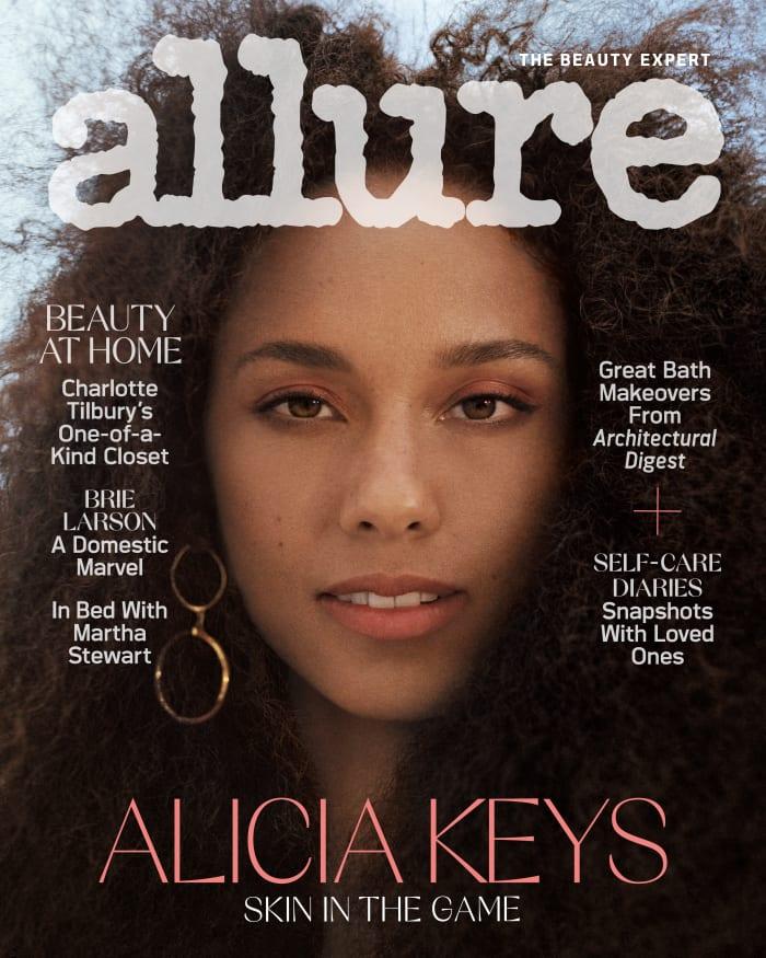 Allure April 2021 Alicia Keys