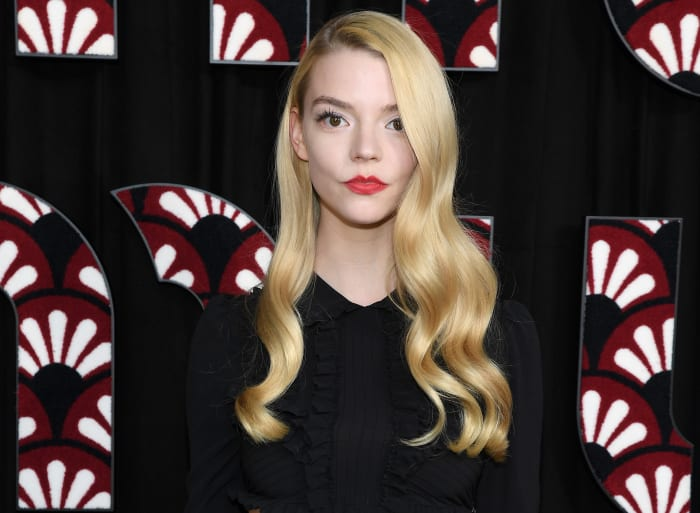 Anya Taylor-Joy attends the Miu Miu show as part of the Paris Fashion Week Womenswear Fall:Winter 2020:2021