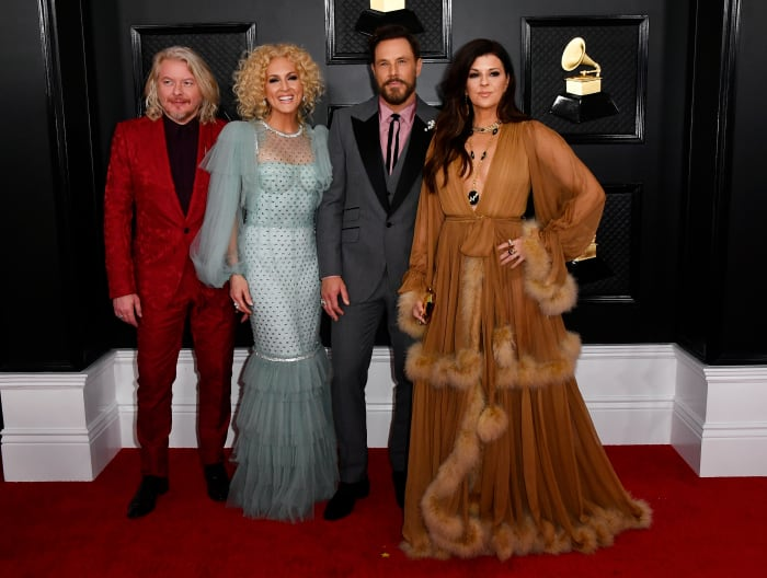Little Big Town in Dolce & Gabbana at the 2020 Grammy Awards.