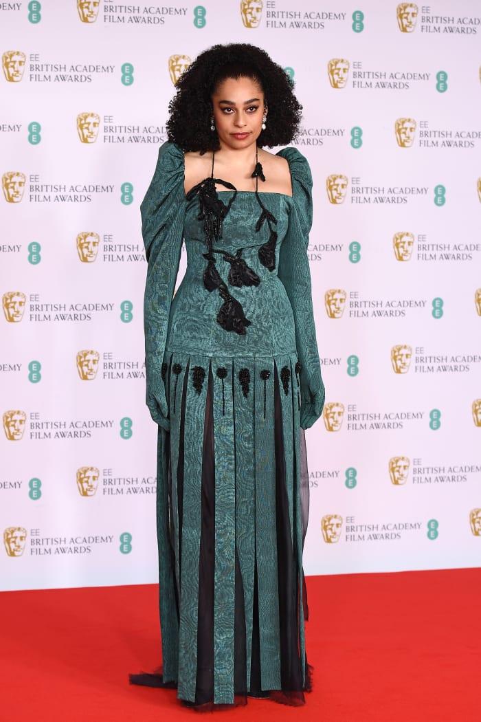 Celese 2021 BAFTAs
