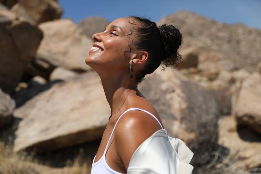 Alicia Keys for Keys Soulcare.