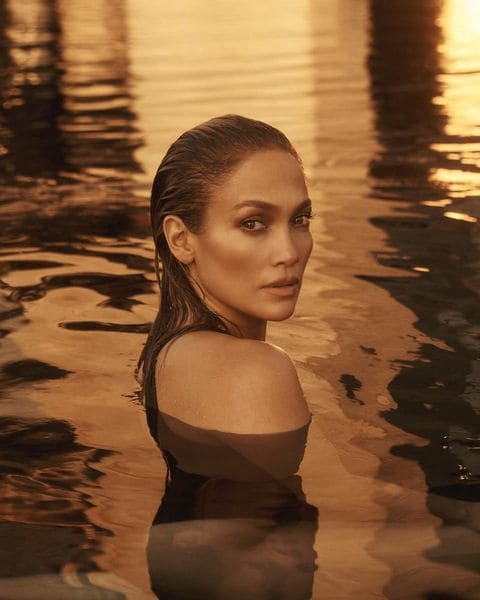 Jennifer Lopez for JLo Beauty.