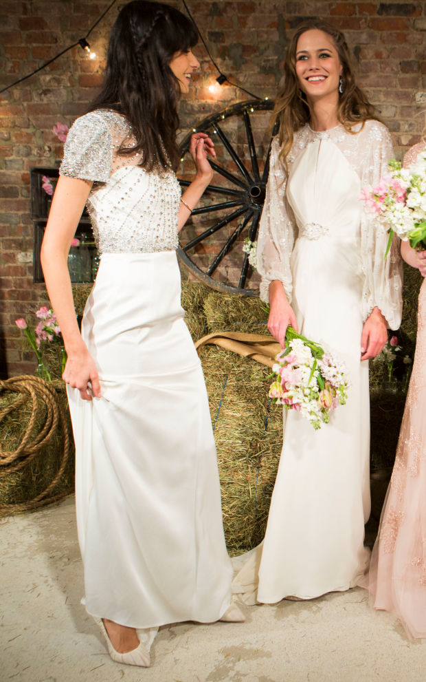 What to wear under your wedding dress fashionista for Slimming undergarments for wedding dresses