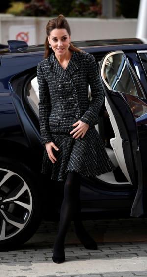 Kate Middleton wearing Dolce & Gabbana in 2020.