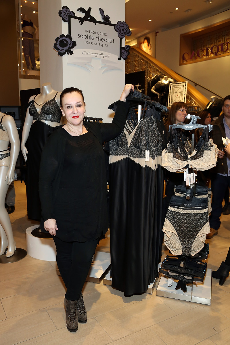 Studio Bercat graduate Sophie Theallet presenting her collection for Lane Bryant in 2014. Photo: Monica Schipper for Getty