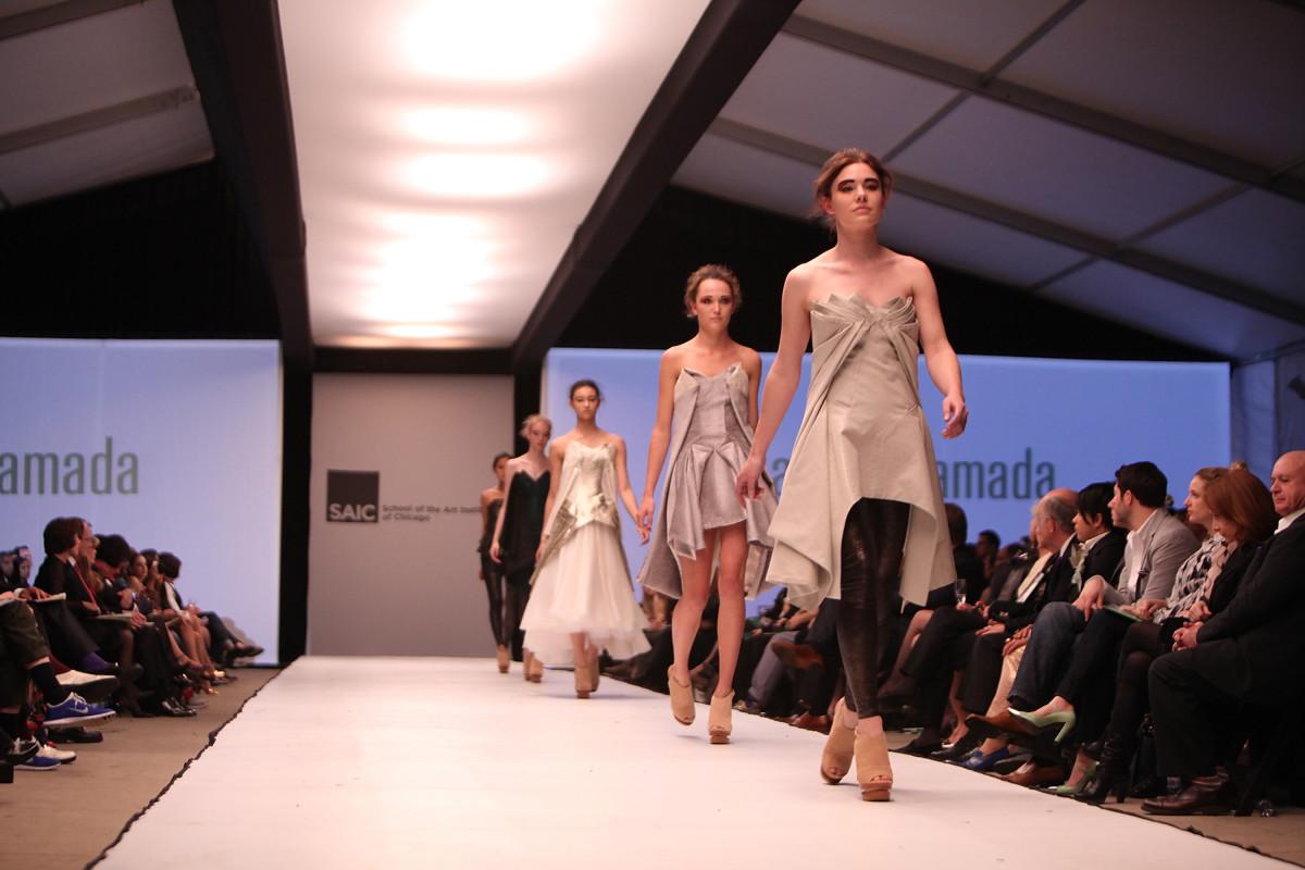 A 2013 SAIC fashion show. Photo: Jeff Schear for Getty Images Entertainment