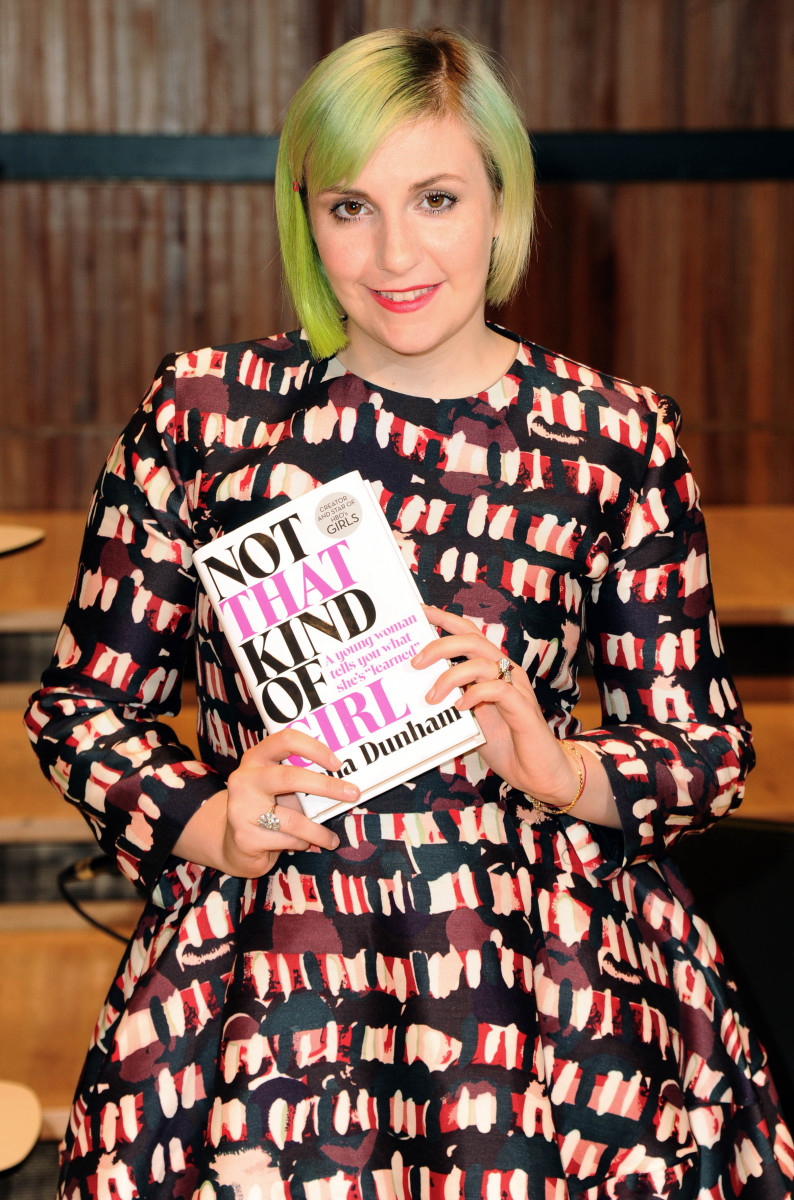 Lena Dunham in Marni in October. Photo: Stuart C. Wilson/Getty Images