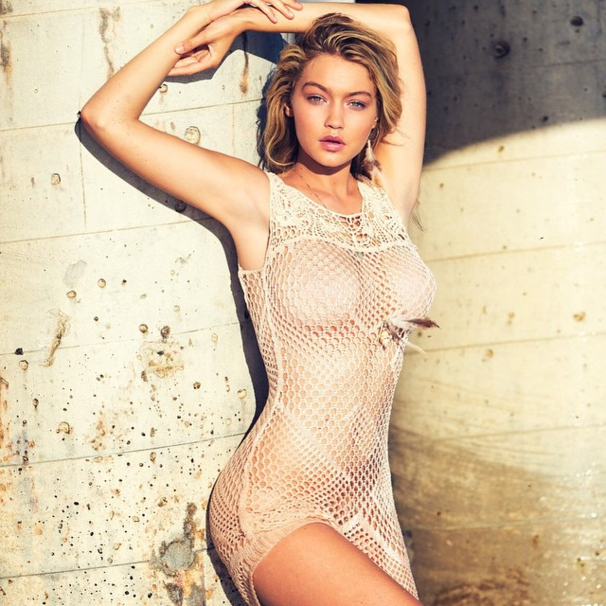 Gigi Hadid. Photo: Guess